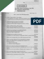 business law vtu question papersbl-jul-06