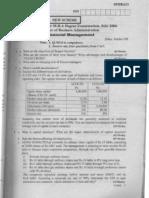 fianacial management vtu question papers-july-06