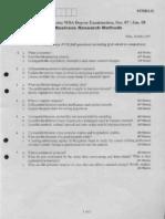 business researchbrm-dec-jan-07-08