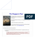 Singapore Flyer - Graphing Periodic Motion