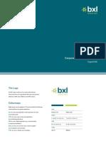 BXL Brand Guidelines 2008