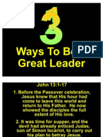 Ways to Be a Great Leader