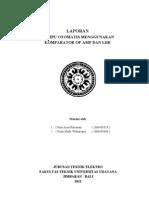 Arya Putrawan (1004405029) - Widiarsana (1004405049) Lampu Otomatis Menggunakan Komparator Op-Amp Dan Ldr