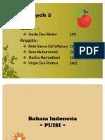 Tugas Bahasa Indonesia Puisi 2