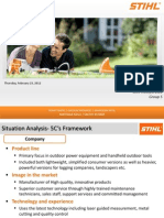 SDM Case Analysis Stihl Incorporated