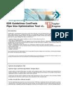 Pipe Size Optimization Tool v1.4