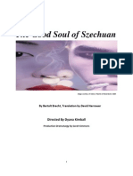 The Good Soul of Szechuan Dramaturgical Portfolio