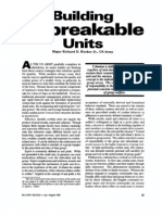 Building Unbreakable Units - Richard D. Hooker - Military Review, July-August 1995, 25-35