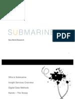 Submarine Digital Offering