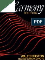 Walter Piston Harmony