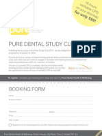 G14406 Pure Dental Health Study Group Flyer