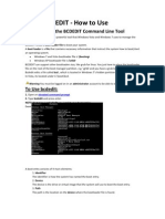 Bcdedit - How To