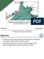 IMC Case Analysis Gillette  Dry  Idea (A)