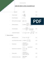 Formula Rio Di Meccanica Razionale