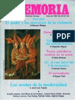 Memoria, nº 050, enero 1993