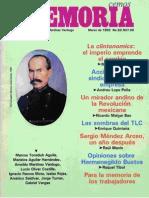 Memoria, nº 052, marzo 1993