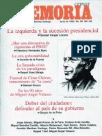Memoria, nº 055, junio 1993