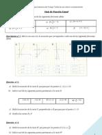 Guia de Funcion Lineal