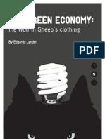 The Green Economy-The Wolf in Sheep's Clothing(Lander)-TNI Nov 2011