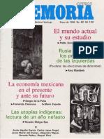 Memoria, nº 062, enero 1994