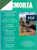 Memoria, nº 066, mayo 1994