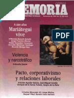 Memoria, nº 072, noviembre 1994