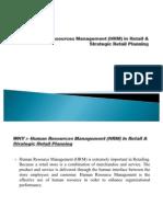 HRM & Strategic Planning.