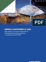 Brochure Hempel Shop Primer ZS 1589