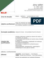 Curriculo Joicy Sallen - PDF