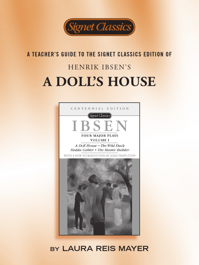 ibsens doll house essay Below is an essay on ibsens alternate endings for a dolls house from anti essays, your source for research papers, essays, and term paper examples although only one ending to the play a dolls house by heinrik ibsen is widely known, ibsen was forced to write an alternative ending, as many discontented directors wanted a happier ending to the.