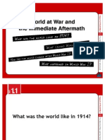 Chp 1_Lecture_The World at War and the Immediate Aftermath