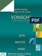 VONSCH green energy solutions 2012