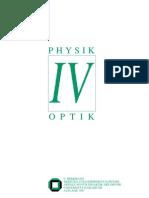 Experimentalphysik IV - Optik