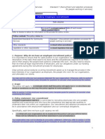 7.1 Employee Recruitment Policy Template