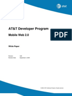 Mobile Web 2 0 White Paper