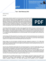 Proactive Investors UK - Views From the Trading Floor - 22nd February 2012