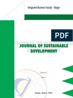 Journal 1- Odrzliv Razvoj