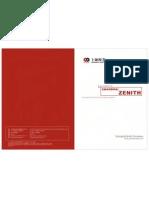 Zenith Mill Catalogue