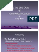 Colorectal Cancer Presentation