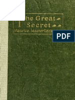 Maeterlinck M - The Great Secret - 1922