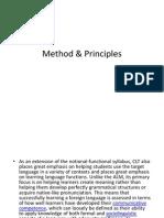 Method & Principles