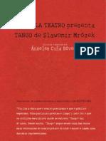 Dossier Tango Sarabela
