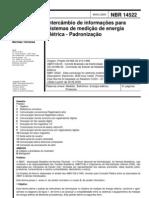 NBR 14522 - Inter Cam Bio de Informacoes Para Sistemas de Medicao de Energia Eletrica - Padronizacao