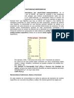 NOMENCLATURA DE SUSTANCIAS INORGÁNICAS
