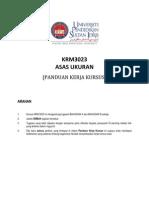 KRM3023 Soalan Tugasan1