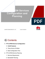 07-FTTx GPON Services Data Planning and Configuration