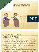 textos argumentativos-