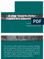 Fuller Capital Account Convertibility