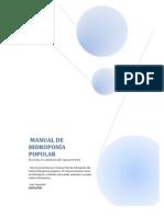 MANUAL DE HIDROPONÍA POPULAR