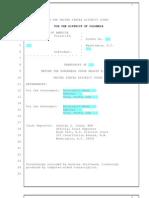 Transcript of Judge Richard J. Leon's remarks in FCPA trial